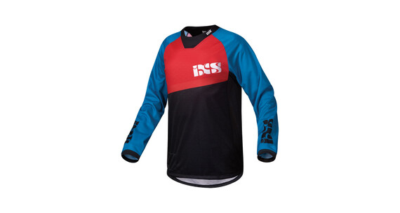 IXS Pivot 6.1 DH Jersey Men petrol/red/black